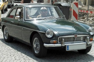 1962 MGB GT coupe