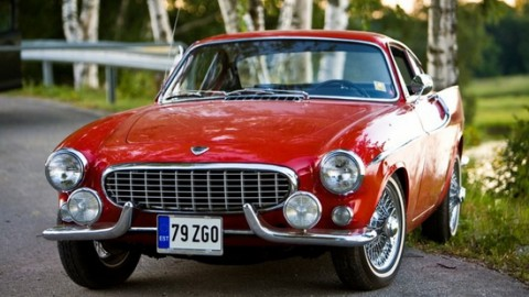 History of the Volvo P1800