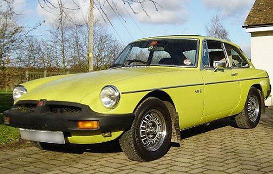 1980 MGB GT coupe