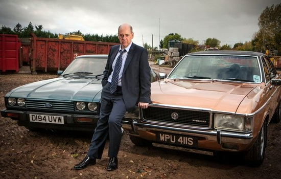 Ford Capri in The Sweeney