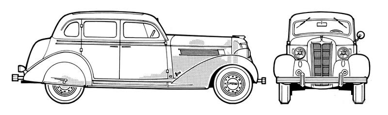 1935 Chrysler Airstream Eight CZ
