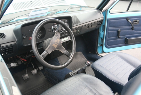 VW Rabbit MKI Interior