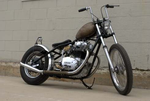 Yamaha xs650 bobber by Keith Hill