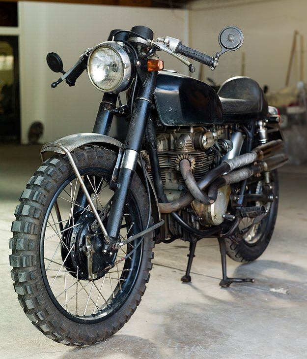 cb350 from Girl With the Dragon Tattoo