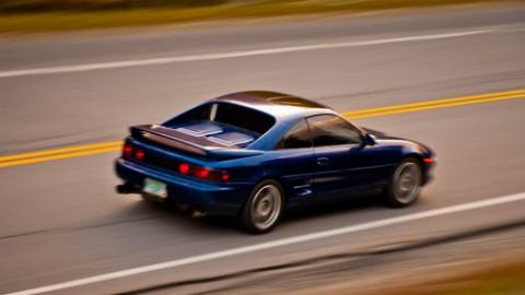 Blue MR2