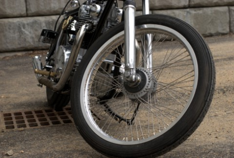 Keith Hill's no-excess XS650