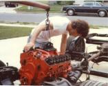 putting corvette motor