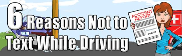 6 Reasons Not To Text While Driving