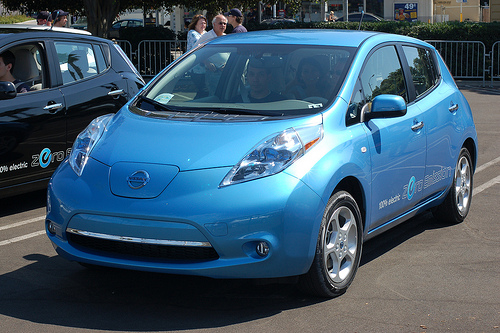 Alternative Fuel Vehicle Nissan Leaf