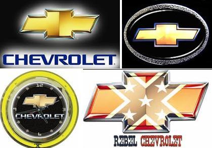 Chevrolet old logos