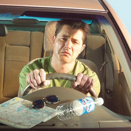 sad driver