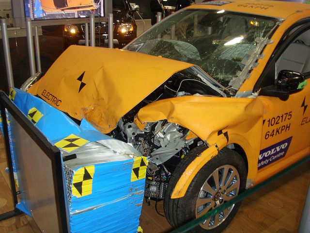 crash tests on cars