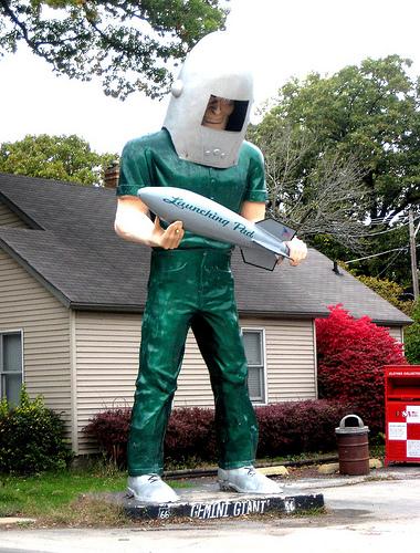Gemini Giant Statue