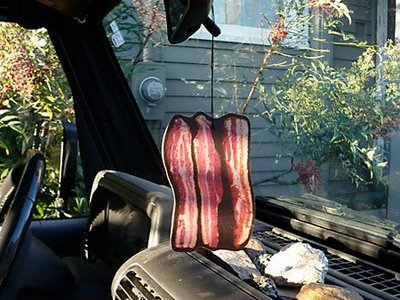 Bacon Rear View Mirror Hanger
