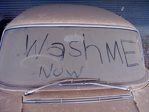 Dirty Car Need Wash