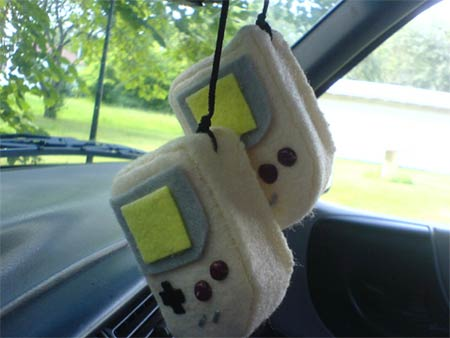 Game Boy Rear View Mirror Hanger