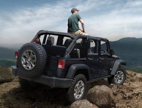 Rubicon Giveaway: Roof & Cabin Install