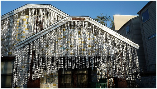 The Beer Can House in Houston