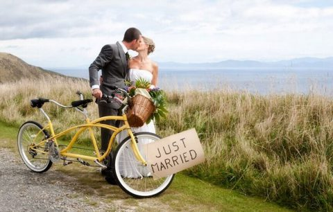 7 Ways to Get Married on Wheels