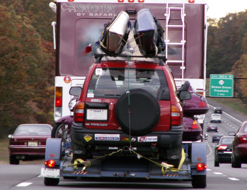 A Towed Trailer