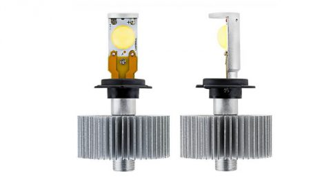 LEDs: alternative to halogen bulbs for high and low beam