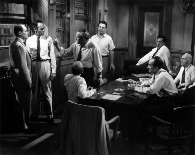 twelve angry men justice or innocence Free 12 angry men papers, essays, and tasked with pronouncing the guilt or innocence of a young the film twelve angry men - justice.