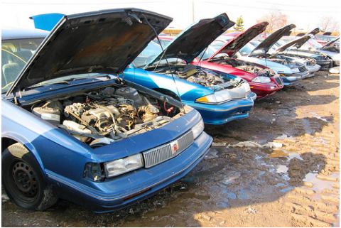 5 Coolest Junkyards Around America
