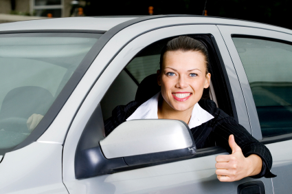 a safe driver with a reduced car insurance rate