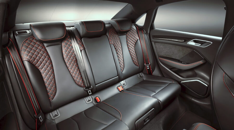 2018 Audi RS3 Back Seats