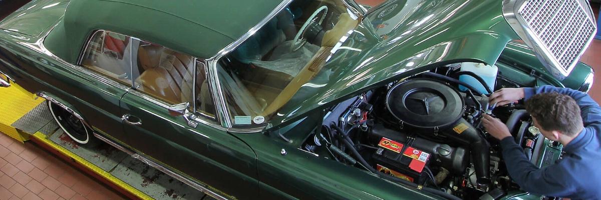 restore a classic car